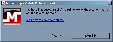 malwarebytes trial